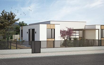 Vivienda modular en balcon de Gredos
